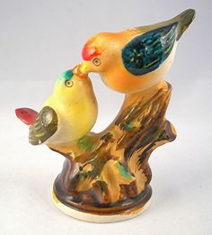 Bird Figurine, Vintage Made in Occupied Japan