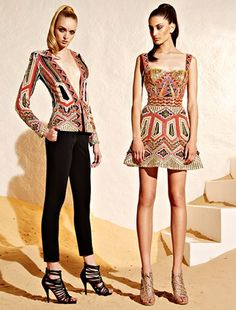 Zuhair Murad Resort 2015 Fashion Show Collection Couture Mode, Style Couture, Couture Fashion, Runway Fashion, Trendy Fashion, High Fashion, Fashion Show, Fashion Design, Gypsy Fashion