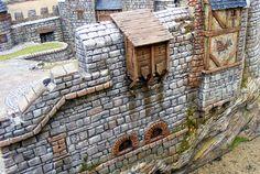 A very cool scratchbuilt castle.