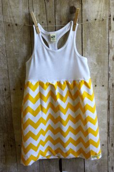 Girls dress Chevron racerback dress toddler by WillowBeeApparel Toddler Dress, Toddler Outfits, Kids Outfits, Cute Outfits, My Little Girl, My Baby Girl, Girly Girl, Niñas Carters Baby, Little Fashionista