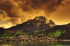 Mount Pilatus, Switzerland - Mount Pilatus was named after a local legend which alleges that Pontius Pilate was buried there.