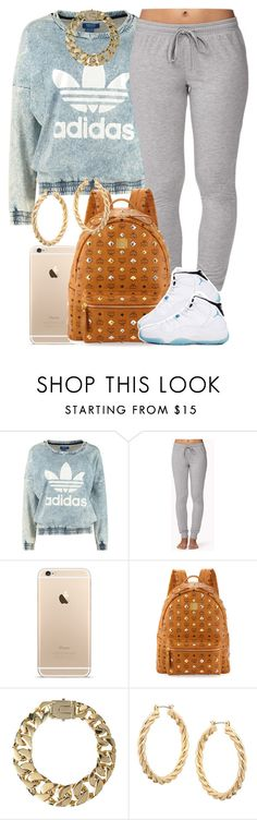 """""""I like that sweatshirt :)"""" by livelifefreelyy ❤ liked on Polyvore featuring adidas Originals, Forever 21, MCM, AllSaints, ASOS and Retrò"""