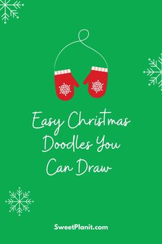 Easy Christmas Doodles You Can Draw in your planner, bullet journal, or notebook Country Christmas, Simple Christmas, Family Christmas, Doodle Drawings, Doodle Art, Doodle Ideas, Planner Doodles, Christmas Doodles, Hanukkah Gifts