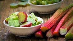 Rhubarb season is, undeniably, the best season. Every year, as soon as the fruit hits the stands, I look for ways to feature it on my plate as much as possible. This Rhubarb Spoon Cake Is What You Should Bake This Weekend Fruit List, Eat Fruit, Healthy Foods To Eat, Healthy Eating, Healthy Recipes, Healthiest Foods, Fruit Recipes, Rhubarb Bread Pudding, Vitamins