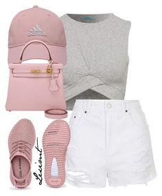 Untitled #747 by leximt on Polyvore featuring polyvore, fashion, style, Topshop, Hermès, adidas Golf and clothing
