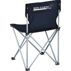 Game Day Sidelines Folding Chair 1070-30 - This compact and portable sidelines folding chair is perfect for cheering on your favorite sports team from the sidelines. Folds to fit into a matching carrying case with shoulder strap. 600 denier polycanvas. #propelpromo