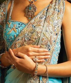 jewellry encrusted gown