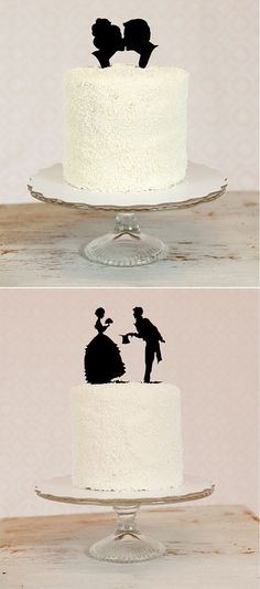 DIY Silhouette CakeToppers - Blog - Indianapolis Wedding Planners | Wedding Coordinators | Wedding Consultants | April Foster Events