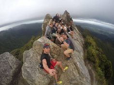 Intrepid students on top of the world at the Pinnacles Summit! #tramping #hiking #pinnacles #studyabroad #studyabroadwaikato #exchange #exchangewaikato #studywaikato #waikato #campuslife #studentlife #newzealand #nzsummer #nofilter #kiwisummer #blessed #travel #study #nz #international #internationalstudent #newplaces #sae2016 #studyabroad2016 #exchange2016 #newfriends #adventure by waikatostudyabroad