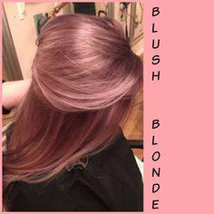 Blush Blonde --- warmer, richer, not brown!
