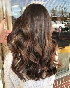 Root Beer Hair, Beer For Hair, Hazelnut Hair, Cabelo Inspo, Natural Hair Styles, Short Hair Styles, Brown Hair Balayage, Asian Balayage, Bayalage