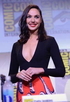 "Gal Gadot arrives for the European premiere of ""Batman V Superman: Dawn Of Justice"
