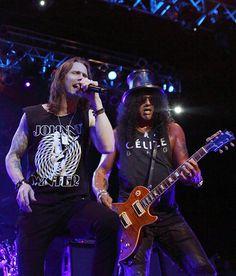 Slash and Myles - House of Blues Boston