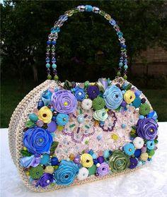 club.osinka.ru Unique Purses, Summer Bags, Womens Purses, Beautiful Bags, Evening Bags, Straw Bag, Purses And Bags, Coin Purse, Wallet