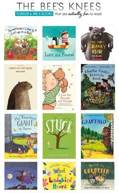 Great Toddler/Pre-K books *