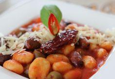 Gnocchi arrabiata recept képpel. Hozzávalók és az elkészítés részletes leírása. A gnocchi arrabiata elkészítési ideje: 30 perc