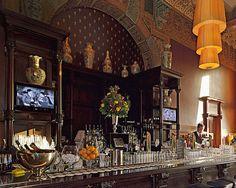 The Grand Cafe Restaurant 1e klas in Central Station. ELLE DECOR Goes to Amsterdam