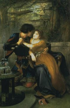 Paolo and Francesca - Edward Charles Halle