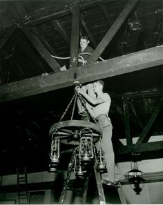 Historic Photograph of Construction Of The Hollywood Canteen
