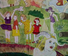 原美術館でHenry Dargerを観たの画像 - おしゃれバカ通信 - Yahoo!ブログ