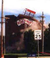 Uniroyal Power Plant Implosion Mishawaka, Indiana