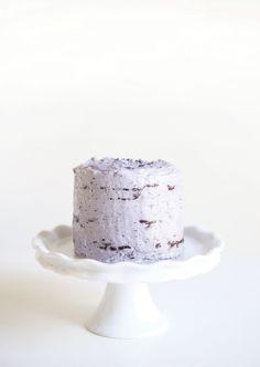 Gluten free Vegan Chocolate Lavender Aquafaba Cake #frosting #lavendeer…