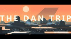 the dan trip on Vimeo #2D, #vector