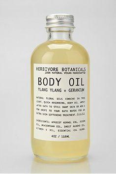 Herbivore Botanicals Body Oil