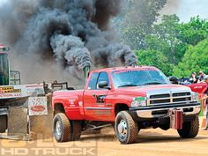 Cummins Diesel Dodge Ram 3500 Truck Pull Dual Stacks