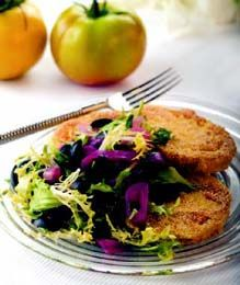 Fried Green Tomato Salad | Food Recipes content from Restaurant Hospitality