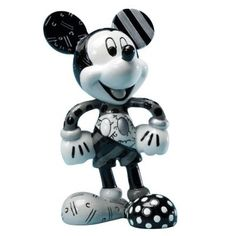 Disney Britto Black & White Mickey Mouse