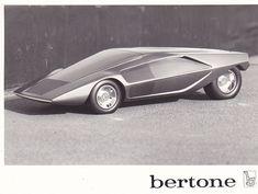 Lancia Stratos Zero (Bertone), 1970 - Scale Model