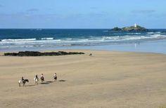 Gwithian Towans Beach, Hayle, Cornwall.
