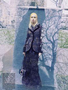 Ornamental Motifs -  Cheyenne Keuben by  Sølve Sundsbø for Vogue Italia…