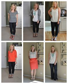 The Small Things Blog 30x30 Challenge - take 30 articles of clothing and create 30 different outfits