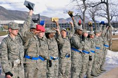 The Class of 2018 went through Recognition March 12-14. https://www.facebook.com/USAFA.Official/photos/ms.c.eJxllMlxI0EMBD3a6MIN~