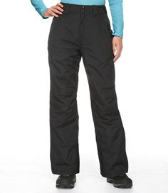 Women's Waterproof Snow Pants - gift cards towards a trip to llbean outlet