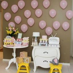 Girl Baby Shower Decorations, Birthday Decorations, Unisex Baby Shower, Baby Shower Gifts, Baby Shower Themes Neutral, Garden Theme, 2nd Birthday Parties, Baby Crafts, House Party