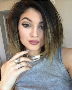 Kylie jenner makeup♥♥♥♥