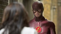 The Flash Season 1 Episode 12  : Crazy For You. Storyline : Caitlin takes Barry out to a local karaoke bar to help them both find new loves. Caitlin strikes out but Barry meets a sports reporter and asks her out for a date. Meanwhile, Cisco considers Hartley's dangerous offer; and the team search for Shawna, a meta-human with teleportation powers who just busted her boyfriend out of Iron Heights.