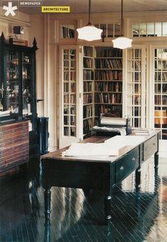 Hobby room and library...
