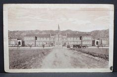 Vintage postcard of Burbank High School, Burbank, California, 1923.