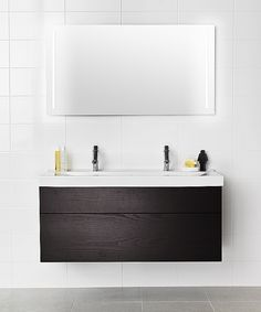 IDO Trend Bathroom Inspiration, Double Vanity, Bathroom Lighting, Mirror, Interior, Furniture, Bathrooms, Home Decor, Toilets