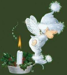 (+1) Candle Baby (вышивание крестом)