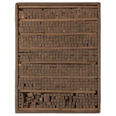 Chinese Movable Type Woodblock Printing Set
