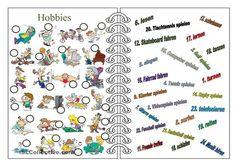 Hobbies lernen. - DaF Arbeitsblätter