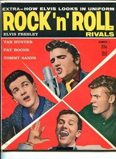 Rock 'N' Roll Rivals 1957 Elvis Ricky Nelson Bilko Southern States Pedigree VF | eBay