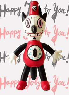 Gary Baseman - http://garybaseman.com/product/toby-plush-toy-edition-of-100/