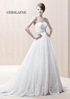 Enzoani Wedding Dresses Photos on WeddingWire Wedding Dresses Photos, Elegant Wedding Dress, Tulle Wedding, Wedding Dress Styles, Bridal Dresses, Wedding Gowns, Flower Girl Dresses, Bridesmaid Dresses, Prom Dresses