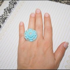 I just added this to my closet on Poshmark: Mint Green Vintage Assemblage Ring. Price: $20 Size: OS